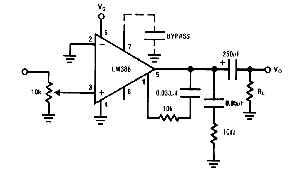 10 STÜCKE LM386 LM386N DIP-8 Audio Power VERSTÄRKER IC Große Qualität ZdYLW HO